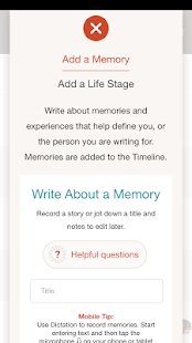 MemLife Journal, Diary, Memoir- screenshot thumbnail