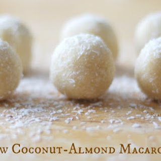 Raw Coconut-Almond Macaroons.