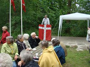 Photo: Jørgen F. Bak byder velkommen