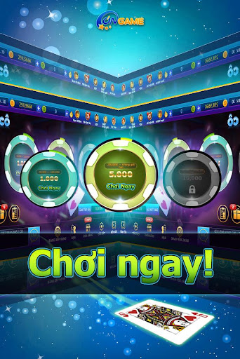 Ongame Sám cô - Xì tố Poker 7 lá apklade screenshots 1