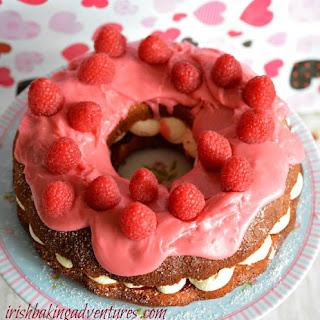 Raspberry Bundt Cake