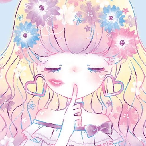 Wallpaper Flowery Kiss for PC