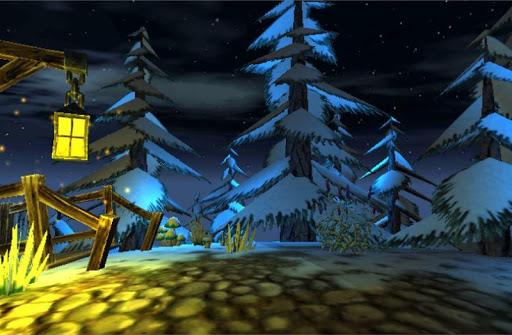 3D Winter Forest Live WP скачать на планшет Андроид