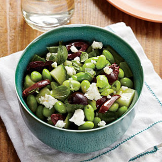 Greek-Style Edamame Salad.