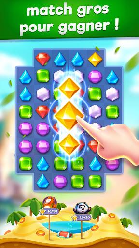 Bling Crush - Jewels & Gems Match 3 Puzzle Game fond d'écran 2