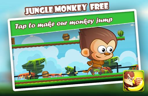 Jungle Run Monkey