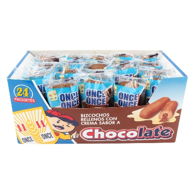 bizcochos once once chocolate 35gr