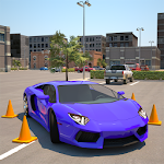 Driving School 3D Parking Icon