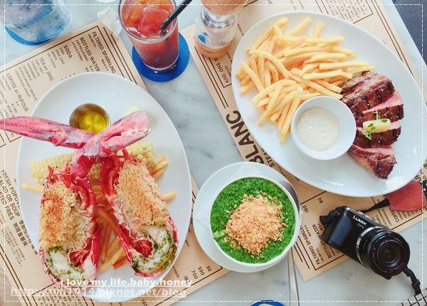 Le Blanc牛排館。波士頓活龍蝦、10盎司肋眼牛排 澎派上桌。美式復古風格的用餐環境。聚餐/節日慶祝 激推餐廳