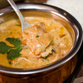 Slow Cooked Butter Chicken.