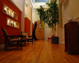 Photo: We have a 25 foot tall guitar in our main hallway....but who doesn't???