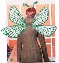Photo: Wenchkin's Mail Art 366 - Day 119, card 119a