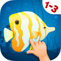 Animated Fish Puzzles for Kids icon