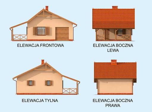 Bahia - Elewacje