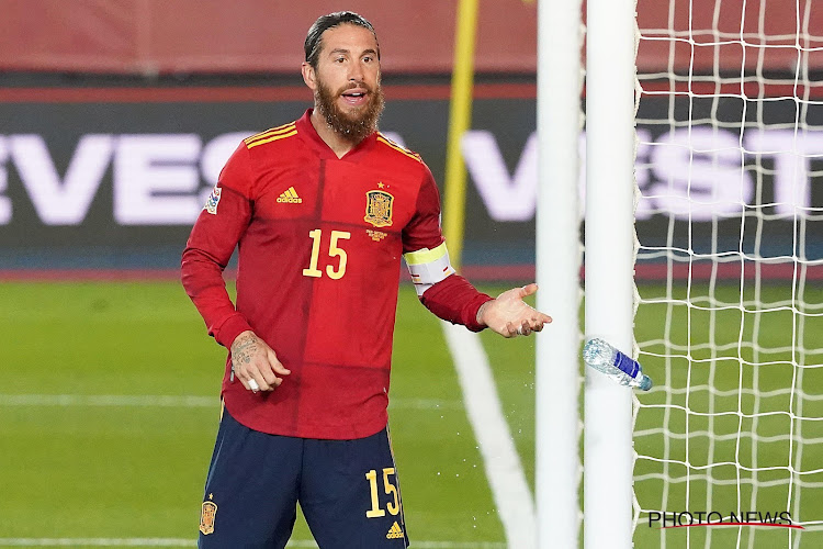 "Sergio Ramos pleure pour la Roja: ""Triste et injuste"""