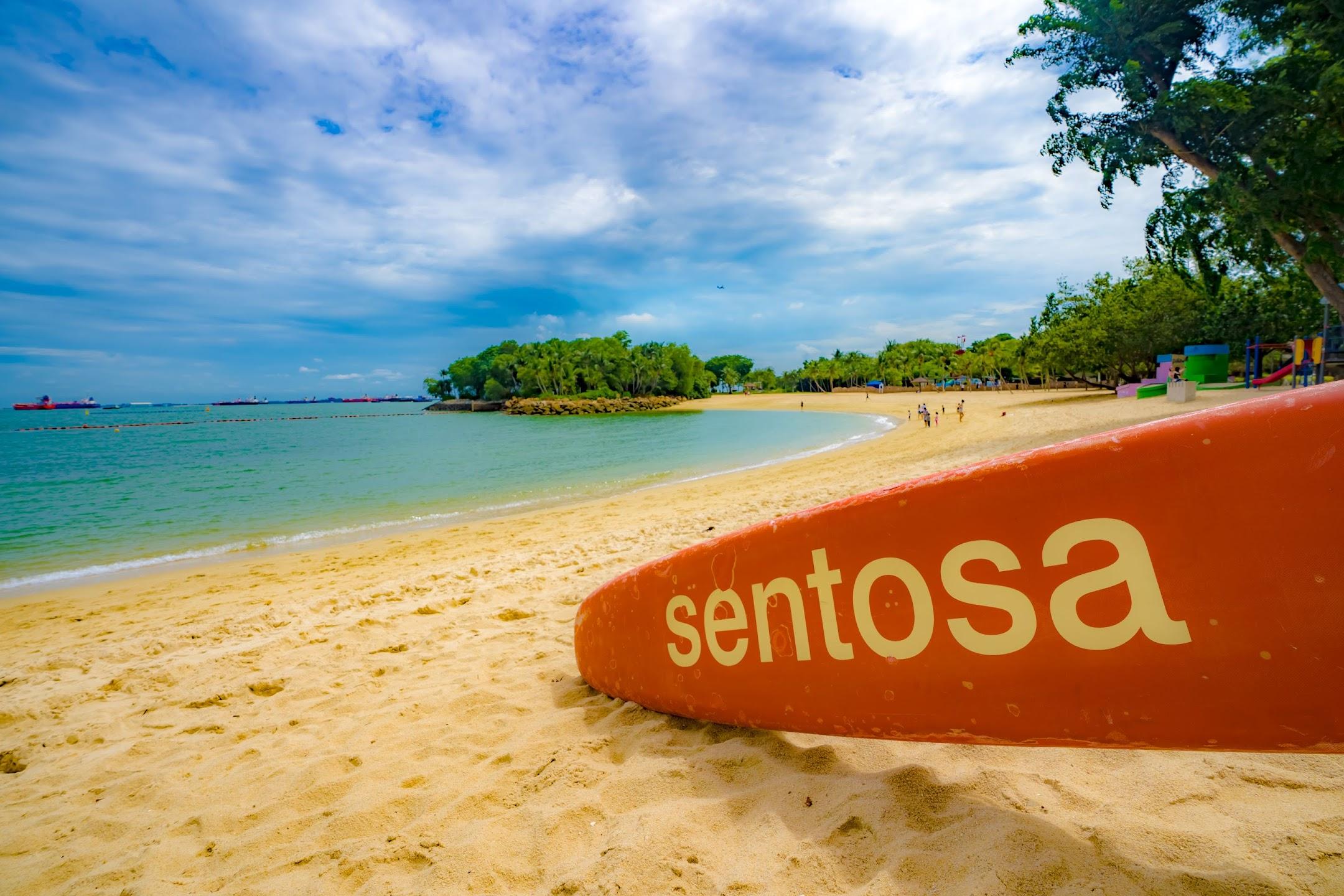Singapore Sentosa Beach2