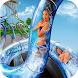 狂った 水 滑り台 ラッシュ レース 3D