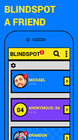 BLINDSPOT - chat anonymously 1.4.4 screenshot 555397