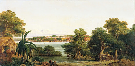 View of São Luis do Maranhão - Joseph Léon Righini - Google Cultural Institute