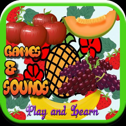教育の女の子のためのフルーツゲーム LOGO-記事Game