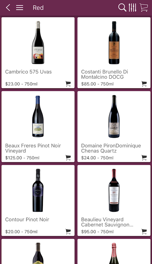 Royal Wine Merchants- screenshot