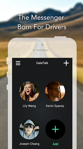 GelaTalk- IM for drivers