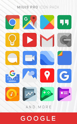 MIUI 9 - Icon Pack PRO Screenshot Image