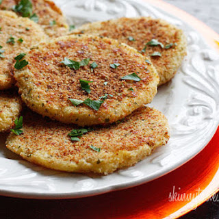Leftover Parmesan Mashed Potato Patties.