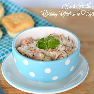 Creamy Chicken and Vegetable Stew