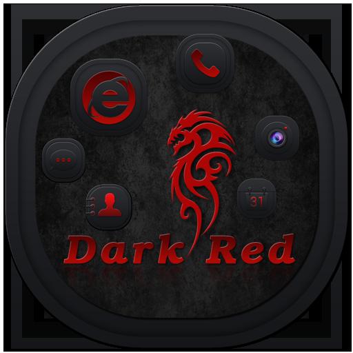 Dark Red Theme