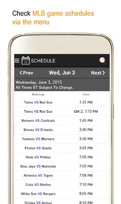 Baseball Live - Mlb Ver - screenshot