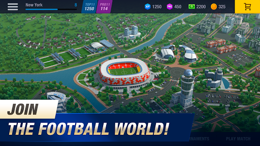 11x11: Soccer Club Manager 1.0.7601 screenshots 1