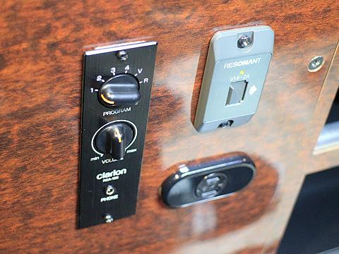 関東バス「ドリームスリーパー東京大阪号」 ・・・1 マルチステレオ、USBポート、コンセント