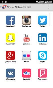 Social Networks - náhled