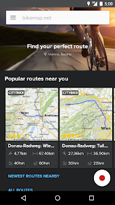 Bikemap - Your bike routes screenshot 0