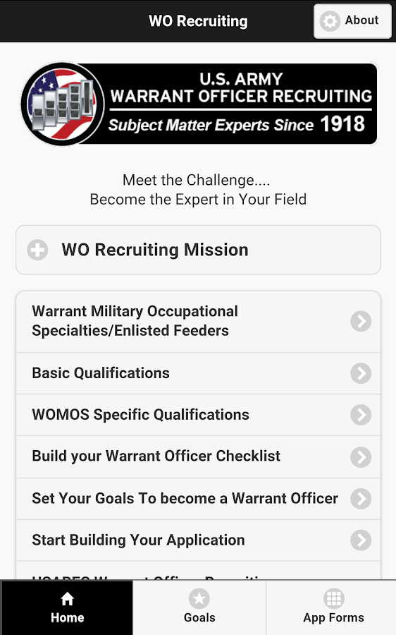 WO Recruiting- screenshot