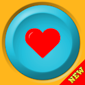 Say i love you (button) icon