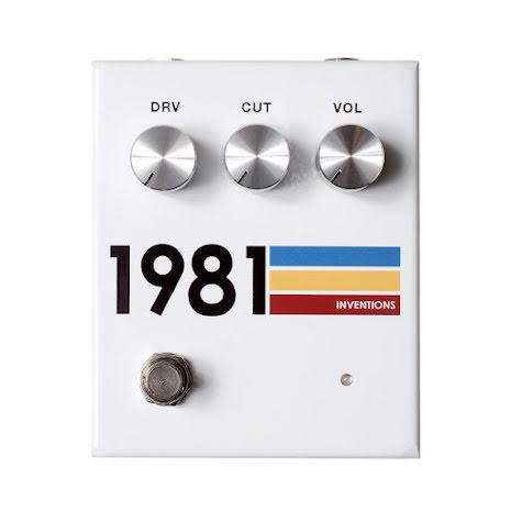 1981 Inventions DRV White #3