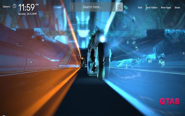 Tron Wallpapers HD Theme