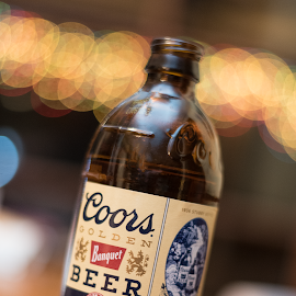 The original banquet beer! by Chris Smith - Food & Drink Alcohol & Drinks ( beer, beverage, bottle, bokeh )
