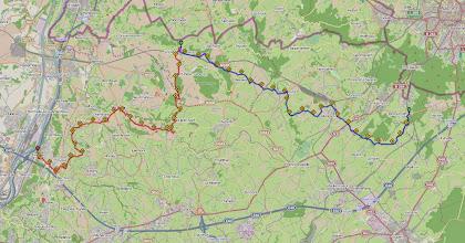 Photo: Het traject kan in detail bekeken worden op http://www.afstandmeten.nl/index.php?id=1385357,1441385