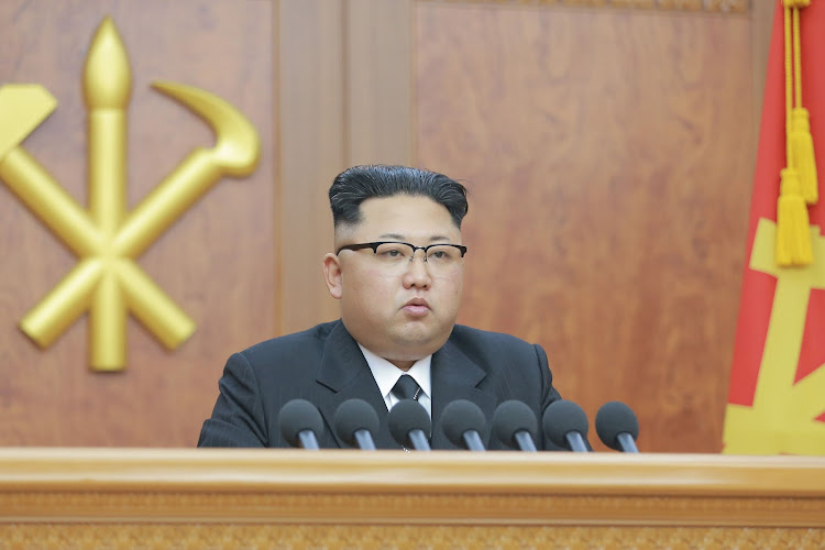 North Korean leader Kim Jong-un. Picture: KCNA VIA REUTERS