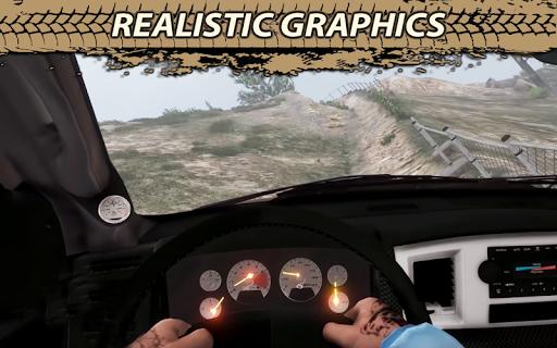 Offroad Cruiser Tough Driving 4x4 Simulation Game  captures d'écran 2