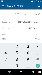 Bitcoin Wallet - Coinbase- screenshot thumbnail
