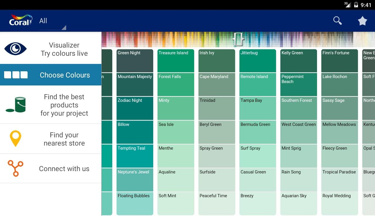 Coral Paint Color Chart Coral Visualizer Gh Android Apps On Google Play