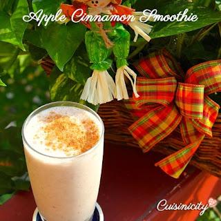 Apple Cinnamon Smoothie.