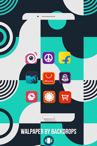 DmonD Icon Pack  Apps til Android screenshot