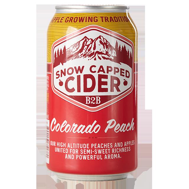 Logo of Snow Capped Colorado Peach