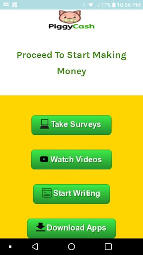 Piggy Cash: Make Money, Gift Cards & Earn Rewards  screenshots 1