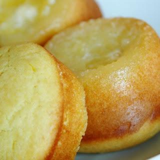 Upside-Down Lemon Muffins.